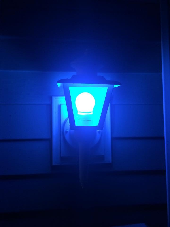 Blue Light Week Idea Goes Viral Across Nation Design Inspirations